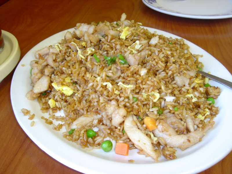 ... sprouts chicken and peanuts egg fried rice egg fried rice fried rice